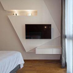 Квартира в Сингапуре с геометричным дизайном – Красивые квартиры