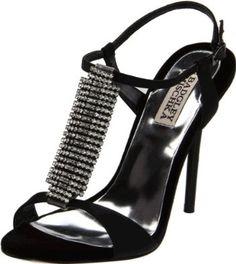Badgley Mischka Platinum Women's Java T-Strap Sandal