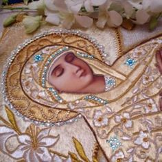 Image shared by nobody's daughter. Find images and videos about Virgin Mary on We Heart It - the app to get lost in what you love. Religious Pictures, Religious Icons, Religious Art, Jesus Christ Images, Orthodox Christianity, Hail Mary, John The Baptist, Historical Art, Blessed Virgin Mary