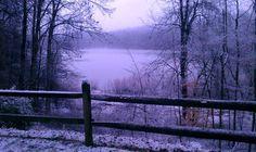Charles Mill Lake Mansfield Ohio Winter