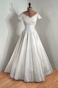 1840 wedding dress | history of fashion - wedding dresses