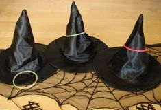 60  Halloween Party Ideas- Witch hat ring toss