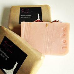 Custom Wedding Favors  Natural Soap  www.etsy.com/shop/aidebodycare