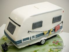 Grant needs this on his camping cake!