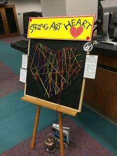 Passive programming project ideas at Lexington County Public Library   by Bobbi…