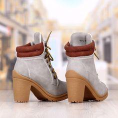 Botine Dama Gri Cu Toc Cod: 236p Booty, Shoes, Fashion, Moda, Swag, Zapatos, Shoes Outlet, Fashion Styles, Shoe
