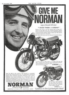 Norman, 1961 Bsa Motorcycle, Motorcycle Posters, Classic Motorcycle, British Motorcycles, Old Motorcycles, Vintage Signs, Vintage Posters, Bike Poster, Classic Motors