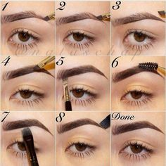 5 Easy Tips To Get Perfectly Shaped Eyebrows At Home Learn how to do your perfec. - - 5 Easy Tips To Get Perfectly Shaped Eyebrows At Home Learn how to do your perfect eyebrow with this step by step tutorial for beginners. Learn how to . Eyebrow Makeup Products, Best Eyebrow Makeup, Eyebrow Pencil, Makeup Kit, Eye Makeup, Makeup Eyebrows, Eyebrow Tips, Eye Brows, Eyebrow Tutorial With Pencil