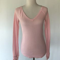 Victoria's Secret pink thermal NWOT PINK Victoria's Secret Tops Tees - Long Sleeve