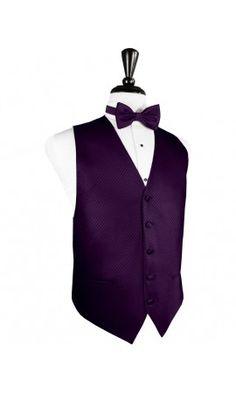 Palermo Raisin Tuxedo Vest