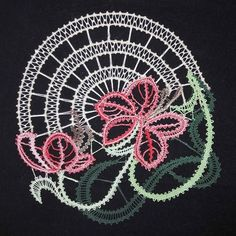 Bobbin Lace Patterns, Lace Heart, Lace Jewelry, Lace Detail, Butterfly, Inspiration, Food Cakes, Sketches, Needle Tatting Patterns