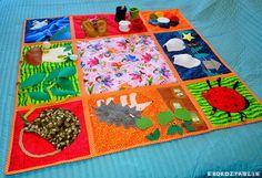 DIY Sensory Rugs for Kids - Montessori Nature