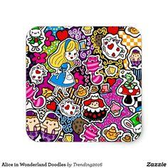 Alice in Wonderland Doodles