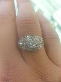 My Vintage Ring- want to downsize to a vintage wedding ring badly.