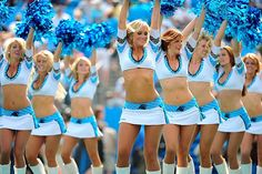 Carolina Panthers cheerleaders