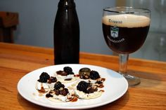 Dark Fruit Wafer with Trappist Westvleteren 12