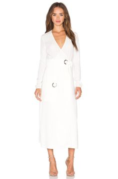 A.L.C. Ray Dress in White