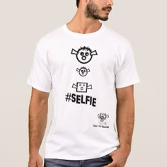 Big Fish Little Fish Box Selfie - Humorous T-Shirt