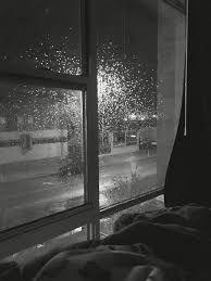 Image result for silent movie still woman window night rain