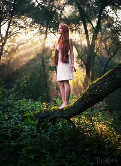 """From the start, I have recognized the dryads and spirits in the many trees I regularly pass and interact with."""