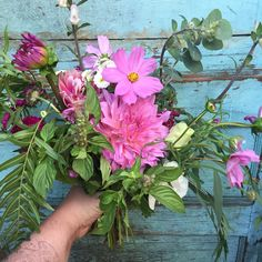 Summery bouquet for a special someone who loves pink