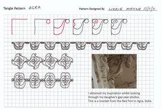 Agra - Zentangle Pattern