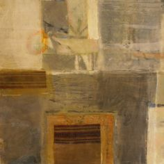 An Encaustic Painting, part of the Factory Series. Artist David Williams.