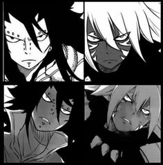 Gajeel and Acnologia