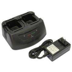 Maximal Power RC Radio Tri-Chemistry Dual Charger for Motorola Radio Batteries (Black) Two Way Radio, Extreme Couponing, Military Discounts, 2 Way, Boombox, Camping Equipment, Chemistry, Charger