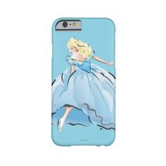 Cinderella And Her Glass Shoe Barely There Iphone 6 Case ($43) ❤ liked on Polyvore featuring accessories and tech accessories