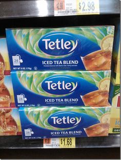 FREE Tetley Tea with