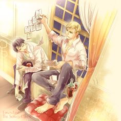 Erwin Smith x Levi Ackerman - Eruri  Attack On Titan / SnK