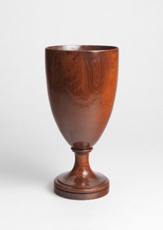 Imposing Georgian Drinking Goblet  (Sold by Robert Young Antiques) #FolkArt