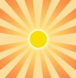 Setting Sun Graphic Clip Art Stock Images - Image: 4900914