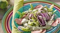 Gurkensalat+mit+Schweinefilet+Rezept+»+Knorr