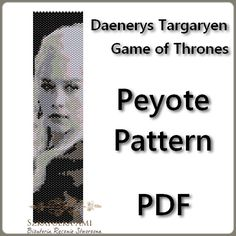 Daenerys Targaryen Game of Thrones Pattern by BeadingPattern