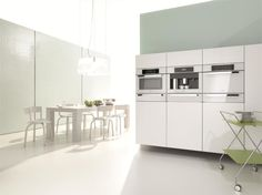 Experience the latest Miele innovation in space 631 at Dwell on Design, June at the Los Angeles Convention Center. Miele will feature its new Brilliant White Plus Collection Dwell On Design, Küchen Design, Modern Design, Design Ideas, Interior Design, White Kitchen Appliances, Kitchen Cabinets, Kitchen White, Kitchen Modern