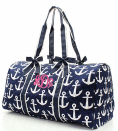 Personalized Monogrammed Quilted Navy Blue by HollysPinkBarn, $39.99