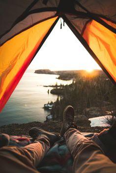 Canoe Camping, Camping And Hiking, Camping Gear, Hiking Trips, Campsite, Backpacking, Atlantis, Outdoor Zelt, Vida Natural