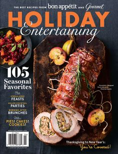 Conde Nast's New Holiday Entertaining Special Edition