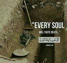 Every #soul will taste #death . #alquran #quranlines #quranverses #islam #muslim