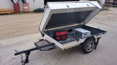 "Used 2012 Other OTHER ATVs For Sale in Texas. 2012 Roll A Home motorcycle camper. This camper has extended room with king size bed. 110 volt air conditoner. <br />Camper in very good condition no dents or damage. Tires are in great condition. Camper has serval add on options such as dual LED lightS.  1 7/8"" ball required and can be pulled by cars, trucks or mini vans too. I pull it with BMW K1600GTL."