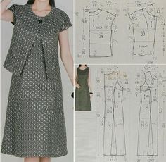 Sewing Clothes Sewing Pants Sewing Patterns Free Clothing Patterns Dress Patterns Different Dresses Simple Dresses Techniques Couture Sewing Techniques Sewing Dress, Dress Sewing Patterns, Sewing Patterns Free, Sewing Clothes, Clothing Patterns, Bra Pattern, Pants Pattern, Vestidos Vintage, Schneider