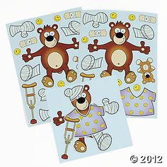 Make-A-Good-Patient Sticker Sheets at Oriental Trading. $2.49 for 12