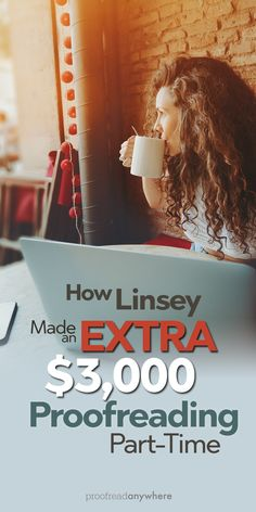 Linsey is paying off debt by proofreading part-time -- and she's already earned $3,000 in just four months! via @prfrdanywhr