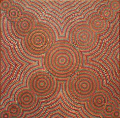 Peinture de Yuendumu #artaborigene #contemporain #australie