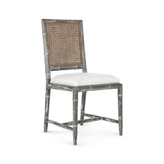 Aubrey Side Chair, Gray - Bungalow 5