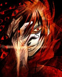 I'm not crazy - Hellsing Ultimate. Another completely inappropriate crush of mine. Seems I'm falling for a lot of fictional men who would eat me