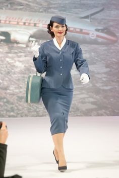 Air Canada Flight Attendant Uniforms from 1937 to 2012 ~ World stewardess Crews