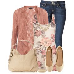 Cropped Jeans, created by immacherry on Polyvore